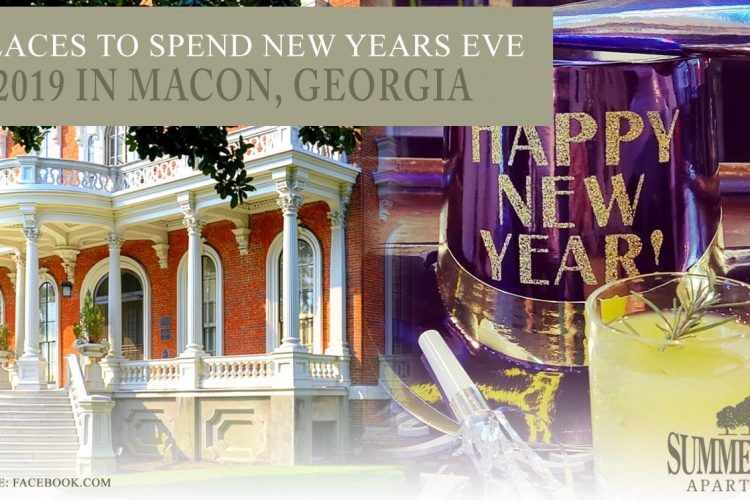 6 Places to Spend New Years Eve 2019 in Macon, Georgia