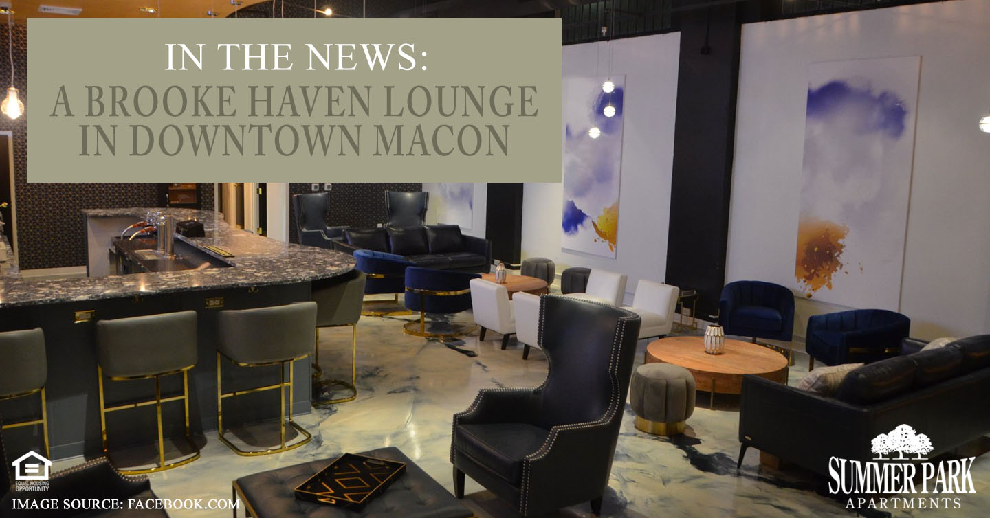 A Brooke Haven Lounge in Downtown Macon