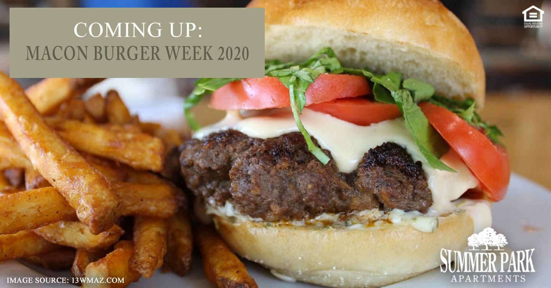 Coming Up: Macon Burger Week 2020