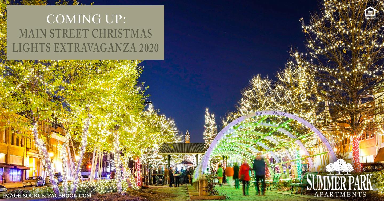 Coming Up: Main Street Christmas Lights Extravaganza 2020